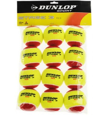 Dunlop Stage 3 12 ballen