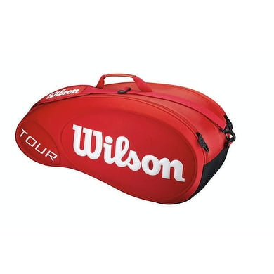 Wilson Tour Molded 6 Pack Bag Red
