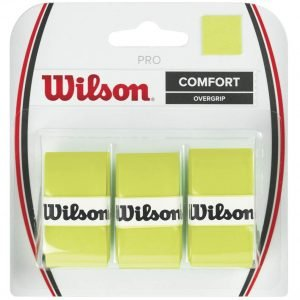 Wilson Pro Overgrip Optic Green 3 stuks