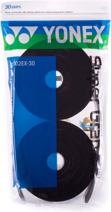 Yonex Super Grap zwart 30 stuks