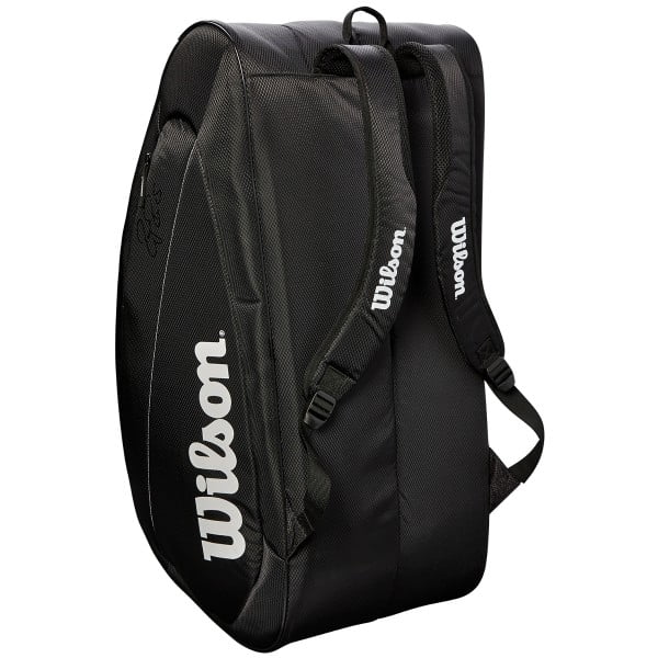 Wilson Federer Team 12 Pack Bag Black/White