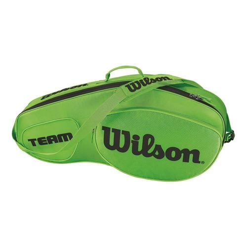 Wilson Team III 3 Pack Bag Green