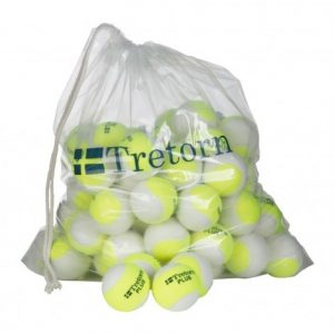 Tretorn Plus Trainer Geel/Wit Polybag 72 ballen