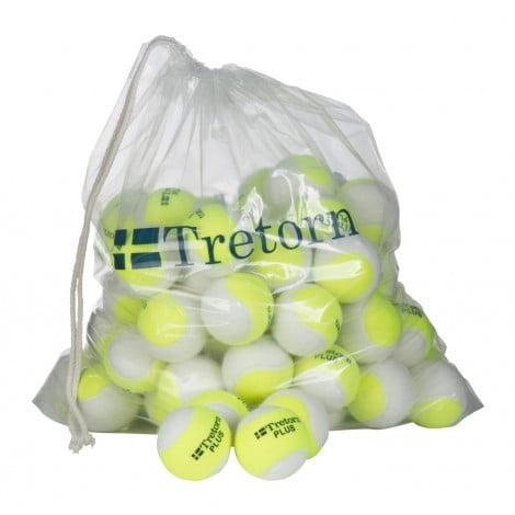 Tretorn Plus Trainer Geel/Wit Polybag 72 ballen