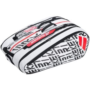 Babolat Pure Strike Racketholder X12 White/Red