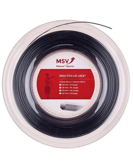 MSV Focus-Hex Zwart 200 meter
