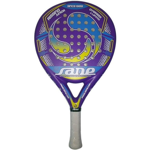 Sane Rissing Junior Paars Padel Racket