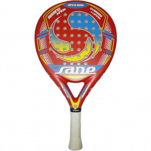 Sane Rissing Junior Rood Padel Racket
